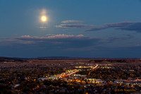 Supermoon Over Canon City
